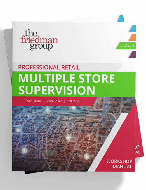 Multiple Store Supervision Seminar Manual Workbook Product Image